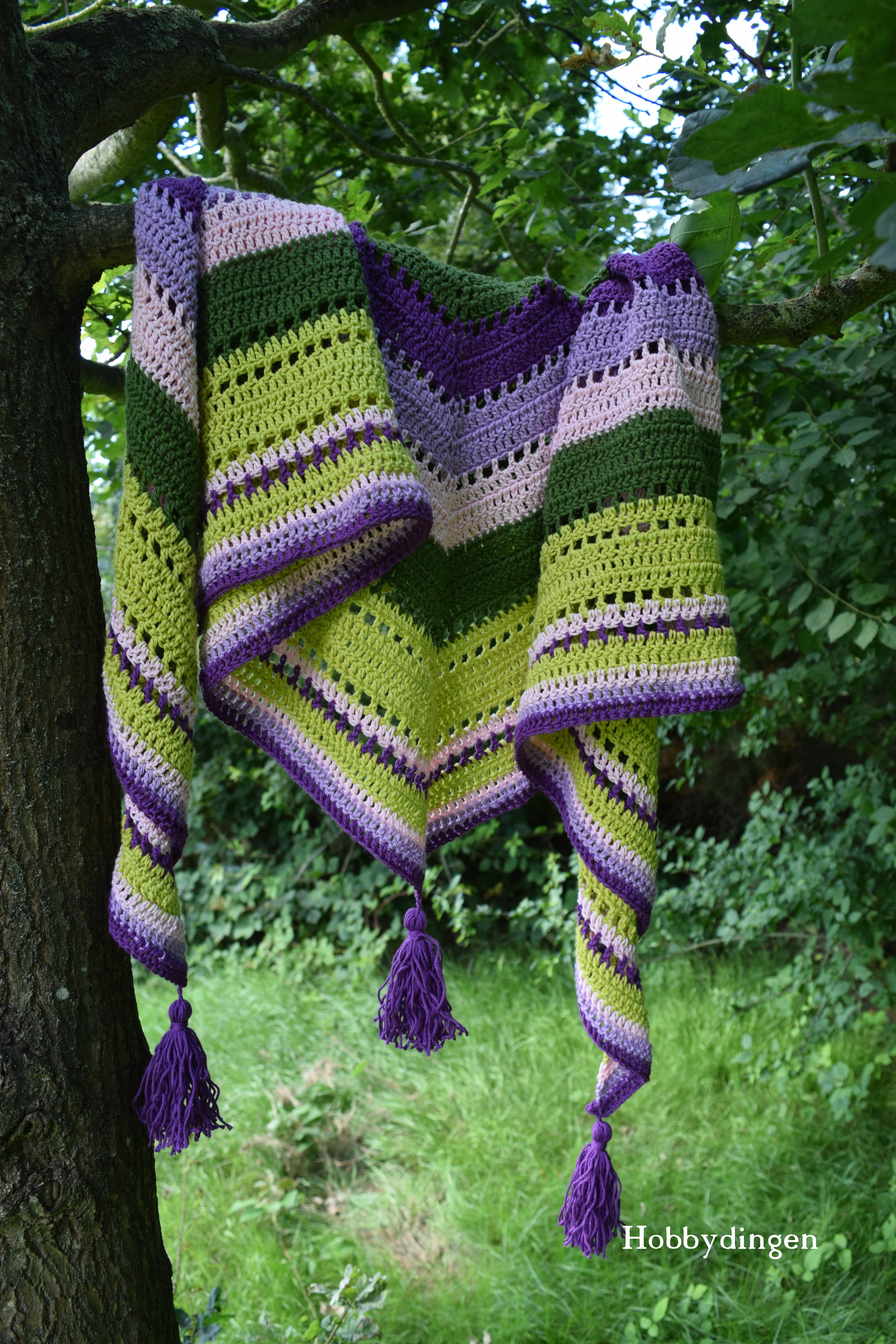 Hobbydingen.com - The Holiday Shawl