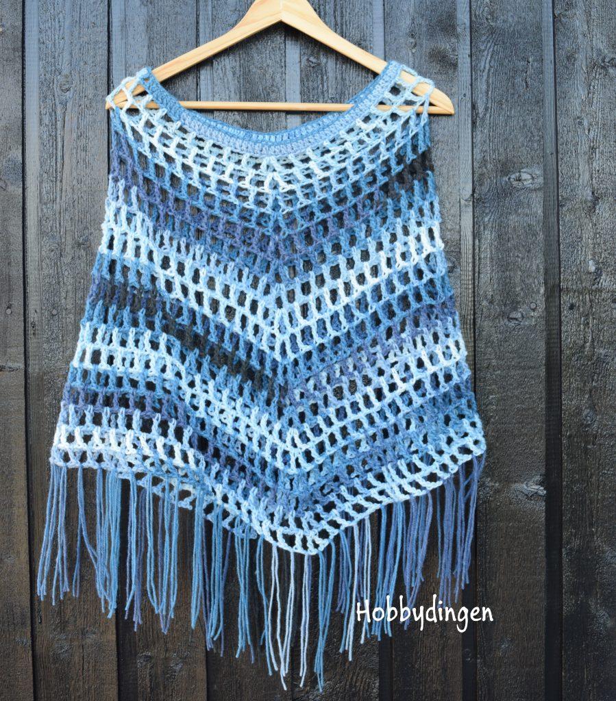 Hobbydingen.com - Simple Boho Poncho