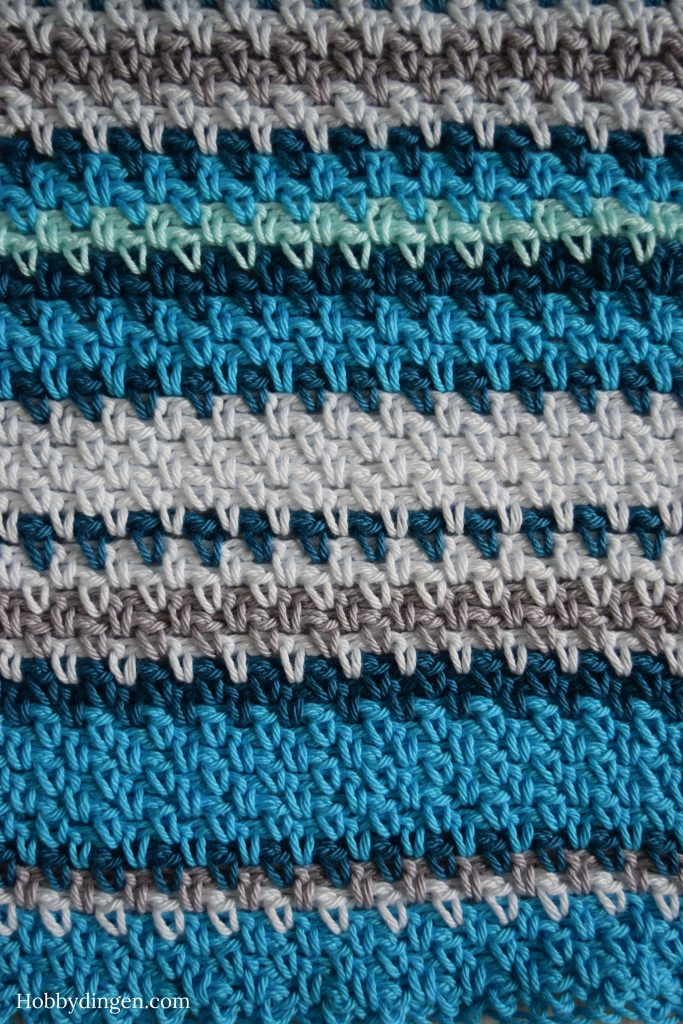 Temperatureblanket update - Hobbydingen.com
