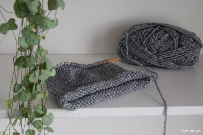 My First Knitted Hat! - Hobbydingen.com