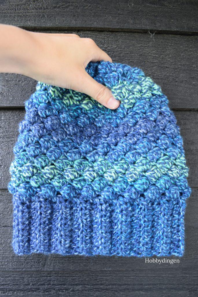 New Design: The Popcorn Hat - Crochet pattern to make your own hat/beanie - Hobbydingen.com
