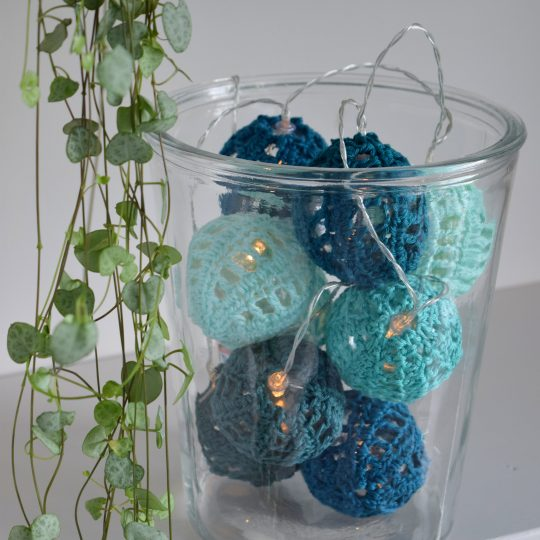 Crocheted lights!