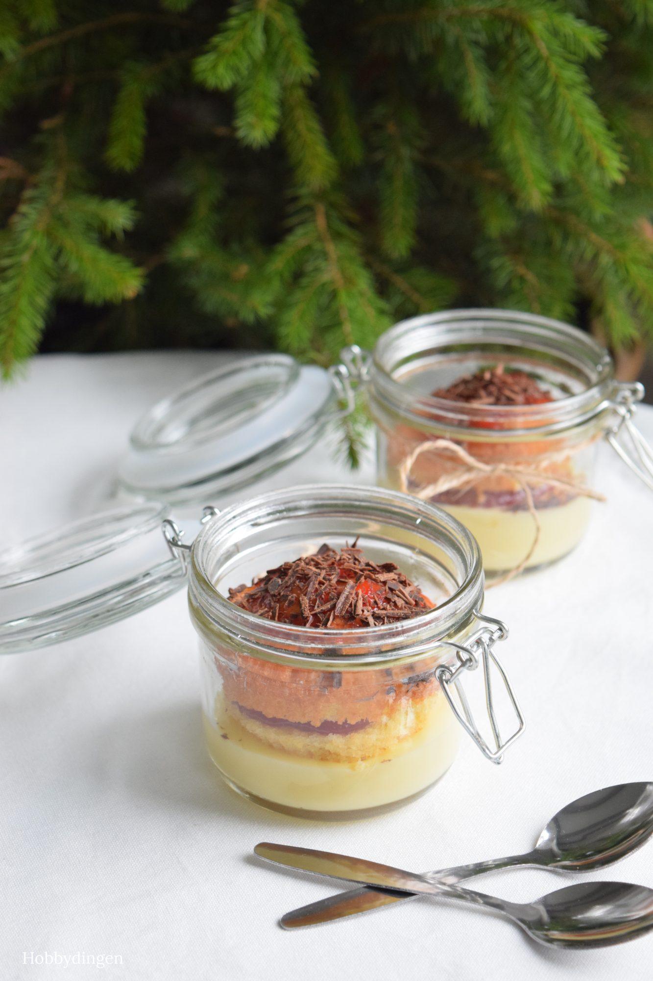 Cupcake Custard Desert in Mason Jars - Hobbydingen.com