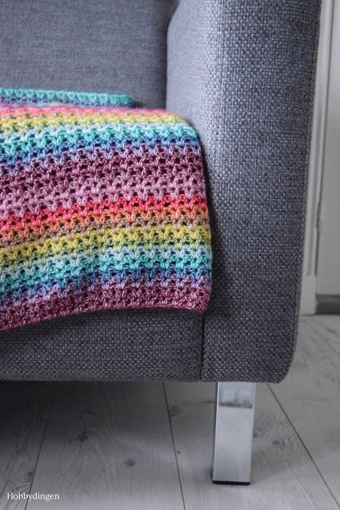 My Happy Rainbow Blanket - Hobbydingen.com