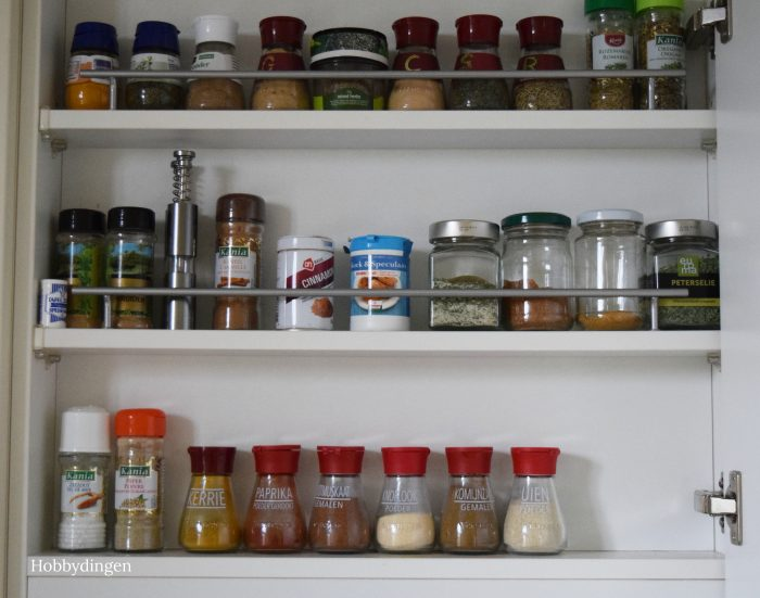 How to Organize Your Spice Cabinet - Hobbydingen.com