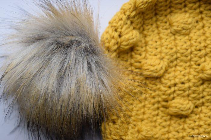 New Design: Crochet Pattern The Crazy Bobble Hat - Hobbydingen.com