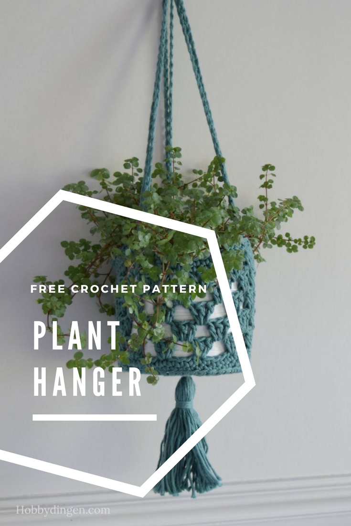 Free Crochet Pattern: Planthanger