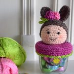 Spring is coming! Easter bunny jar cover - Hobbydingen.com