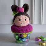 Spring is coming! Easter bunny jar cover - Hobbydingen.com