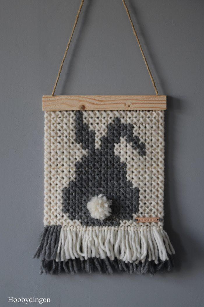 Wall Hanging Easter Bunny - Hobbydingen.com