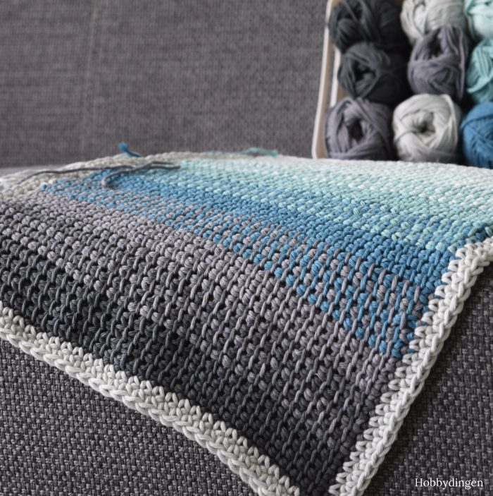 New Design Coming Soon Tunisian Crochet Ombre Pillow - Hobbydingen.com