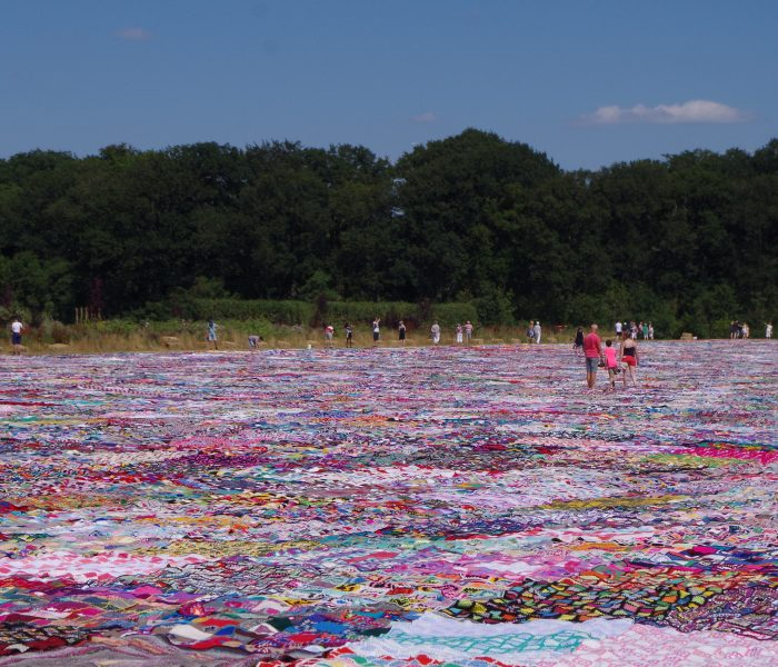 The Biggest Crocheted Blanket of The World
