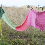 Crochet Pattern: The Flower Fields Shawl - Hobbydingen.com
