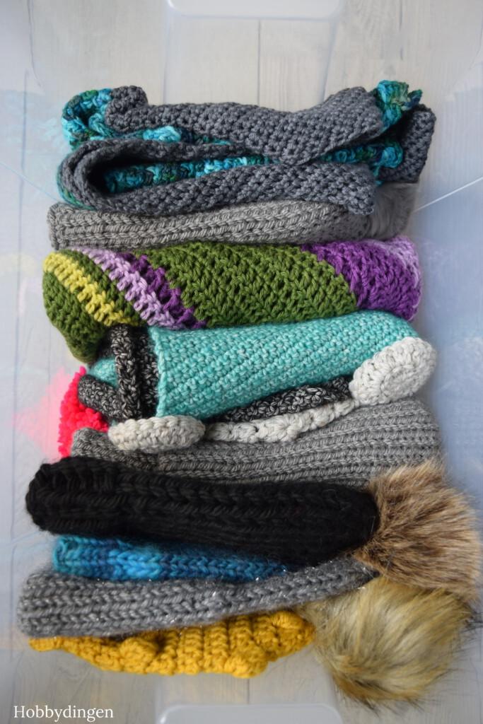 Een opbergdoos vol… handgemaakte winter items