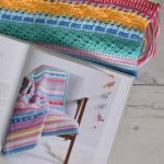 Colorful Tunisian Crochet Blanket - Hobbydingen.com