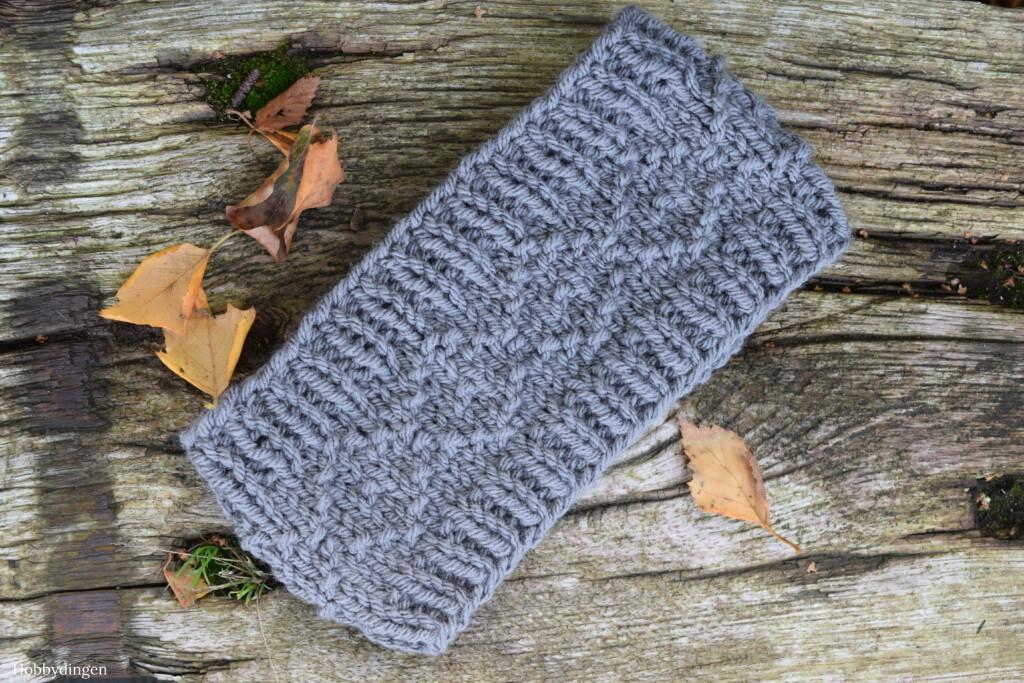 Knitting Pattern Cosy Winter Headband - Hobbydingen.com