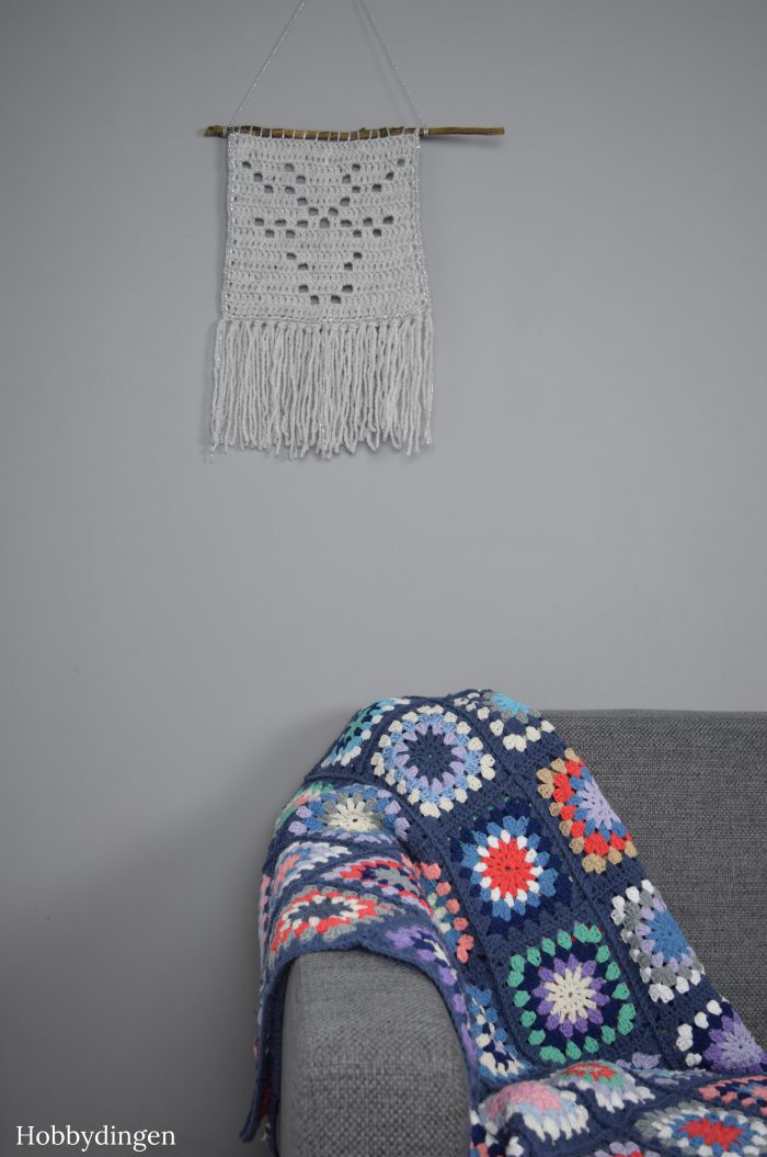 Beautiful granny sqaure blanket- Hobbydingen.com