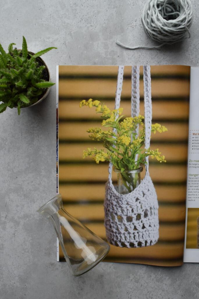 Haakpatroon: Plantenhanger AandeHaak nr. 19