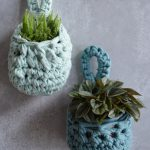 Crochet Pattern Small Plant Pocket - Hobbydingen.com