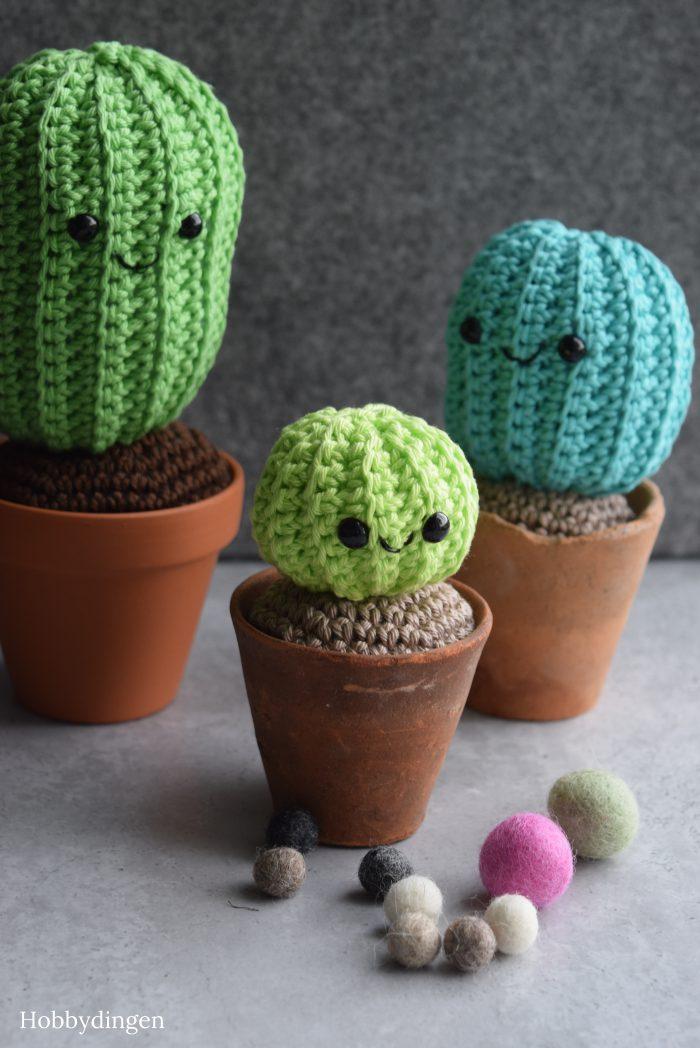 Not-a-prick Cactus Crochet - Hobbydingen.com