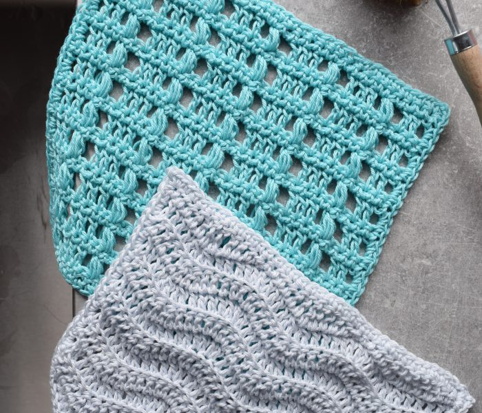 Crochet Pattern: By The Sea Washcloth Set