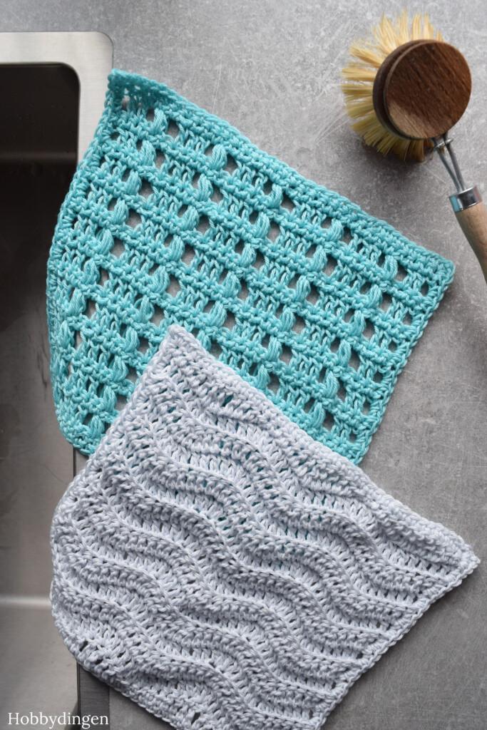 Crochet Pattern: By The Sea Washcloth Set