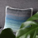 Tunisian Crochet Pattern The Ombre Pillow - Hobbydingen.com