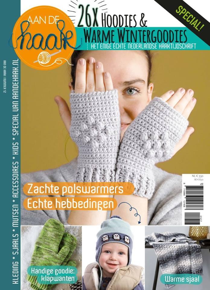 AandeHaak 12 Gehaakte Polswarmers - Hobbydingen.com