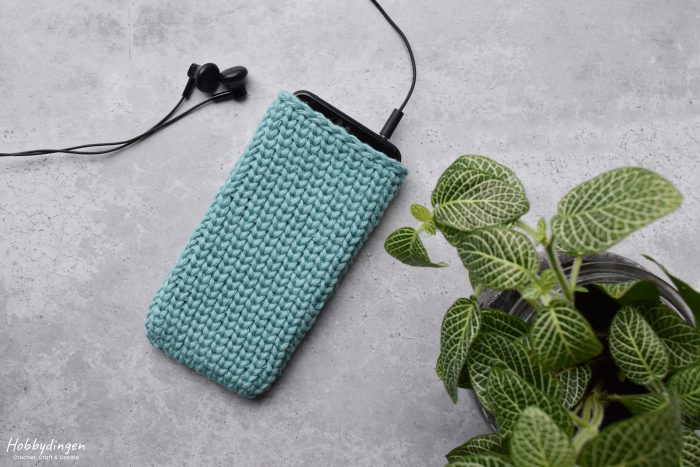 Crochet Pattern Phone Case - Hobbydingen.com