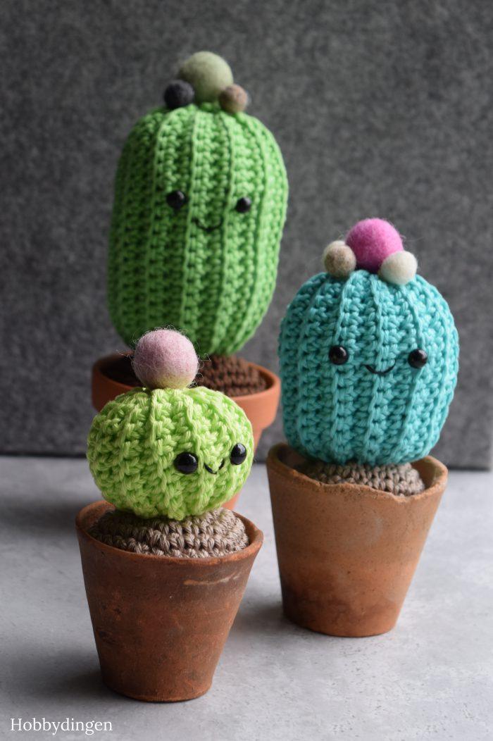 Gehaakte Cactus - Hobbydingen.com