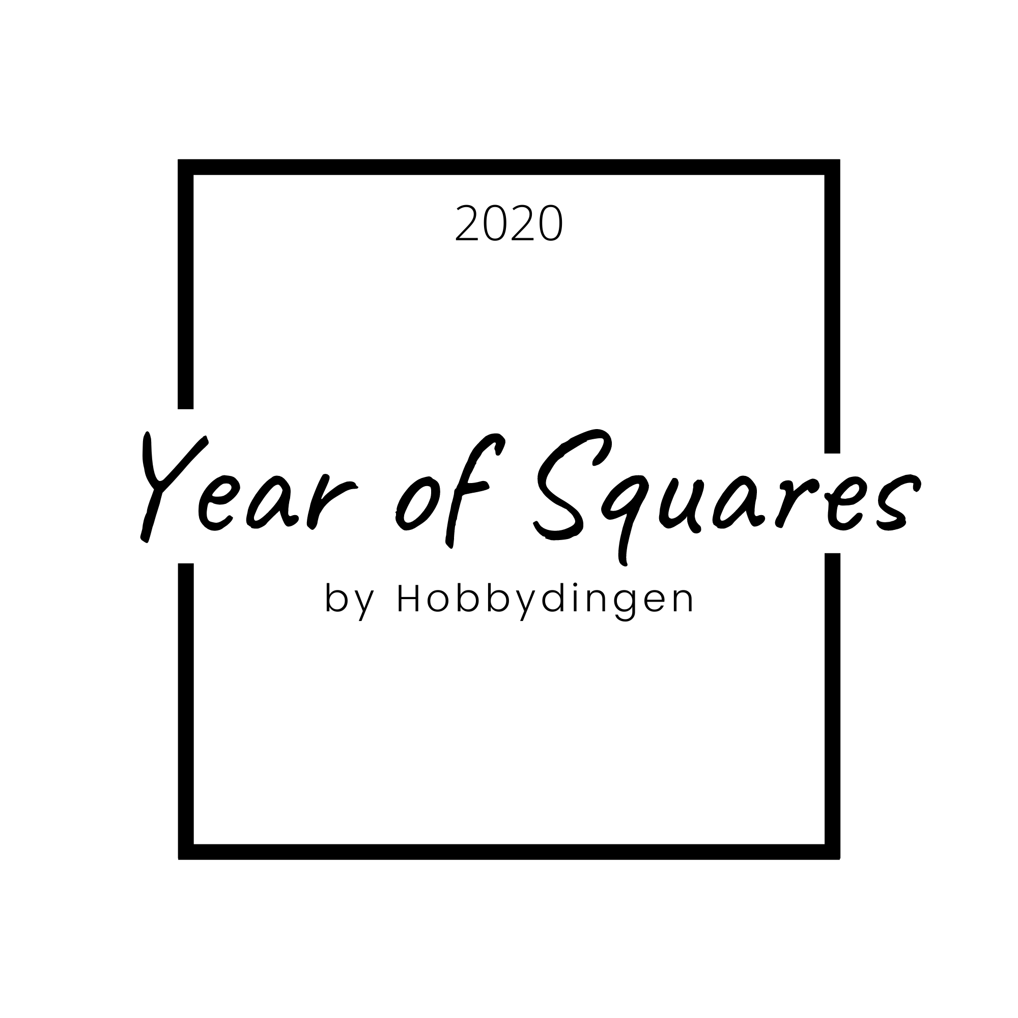 New Crochet Along: Year of Squares