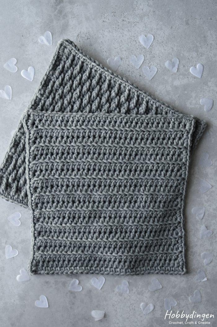 Haakpatroon Februari Vierkant - Year of Squares Deken Crochet Along - Hobbydingen.com