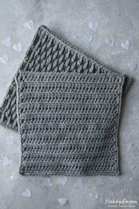 Crochet Pattern February Square - Year of Squares Blanket Crochet Along - Hobbydingen.com