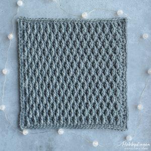 Haakpatroon Januari Vierkant - Year of Squares Deken Crochet Along - Hobbydingen.com