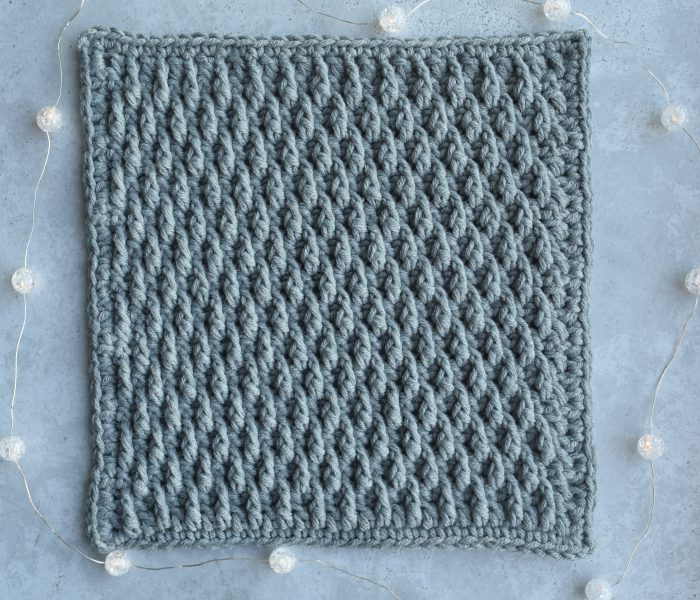 Crochet Pattern January Square