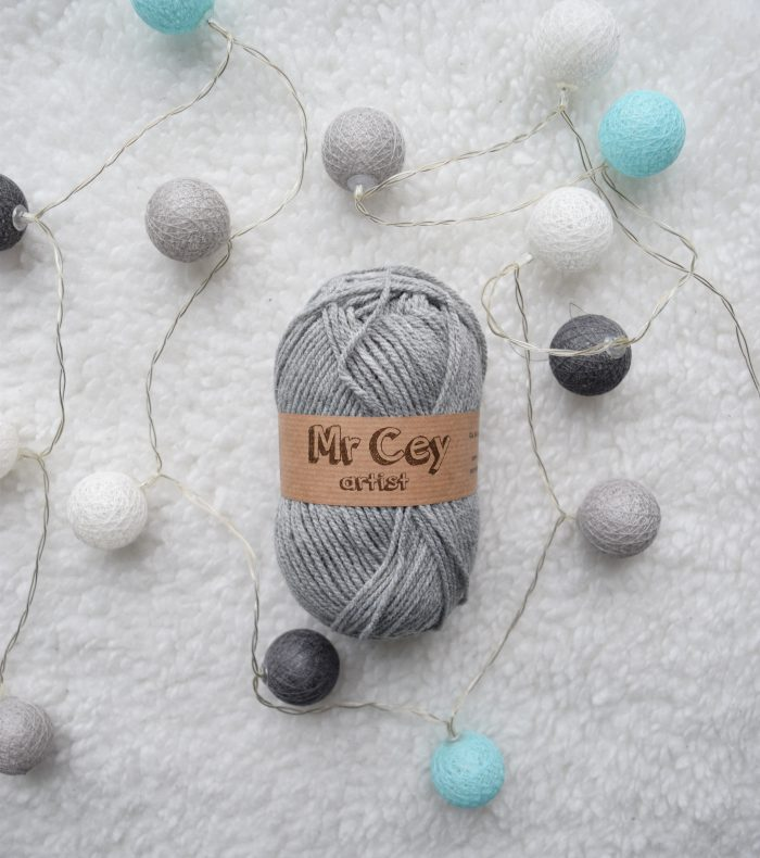 Mr. Cey Artist - Yarn used for Tunisian crocheted Meraki Shawl - Hobbydingen.com