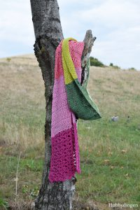 Crochet Pattern The Flower Fields Shawl - Hobbydingen.com