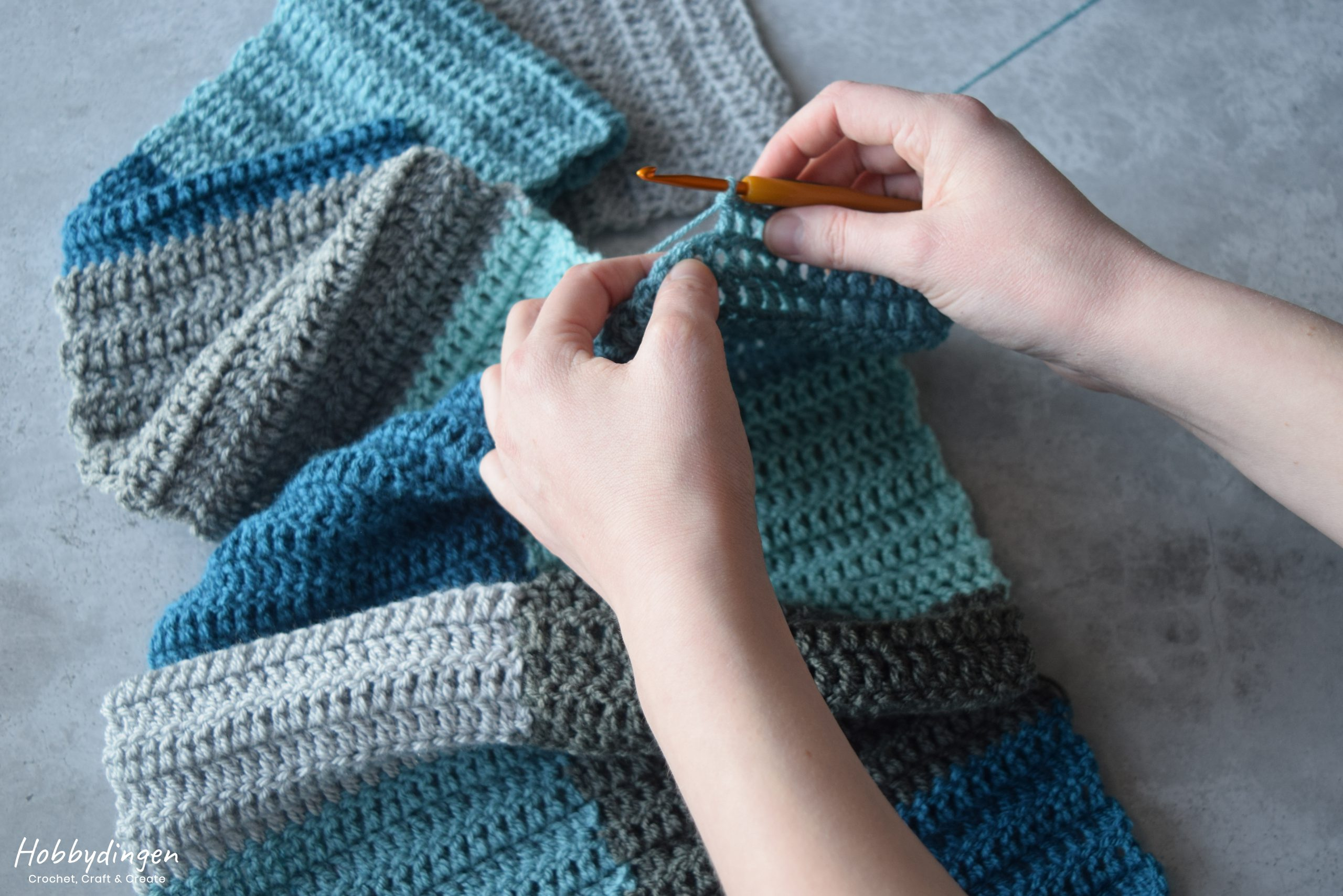Crochet An Age Before Beauty Blanket