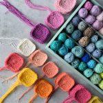 Colorful Granny Square Crochet Project - Hobbydingen.com