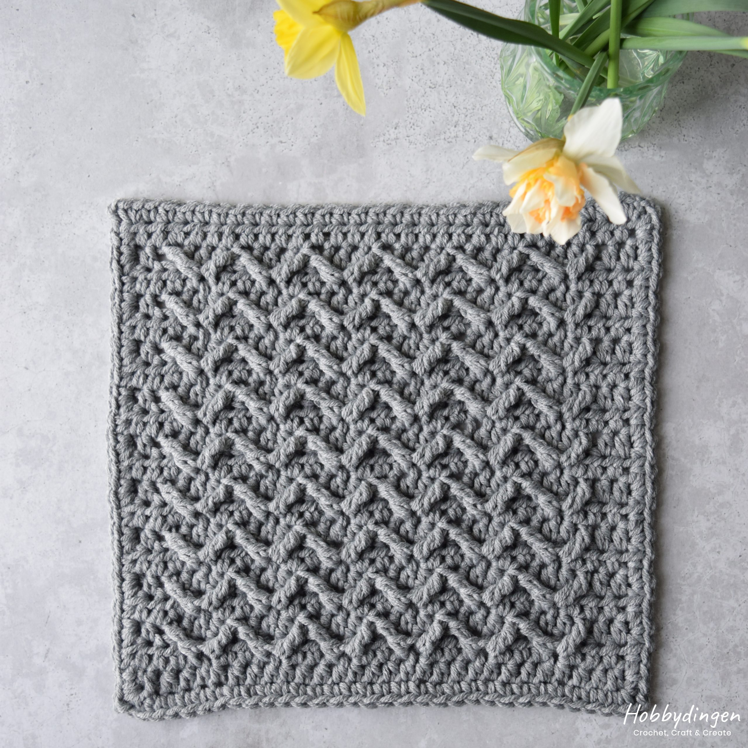 Crochet Pattern March Square