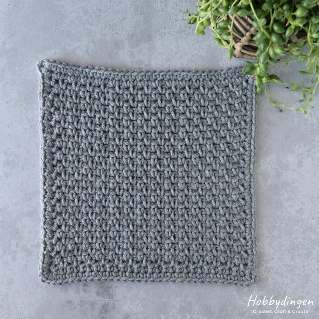 Haakpatroon April Vierkant Year of Squares deken crochet along - Hobbydingen.com