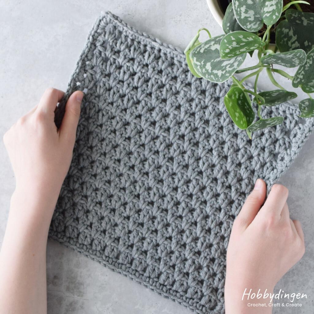 Crochet Pattern June Square Year of Squares Blanket - Hobbydingen.com