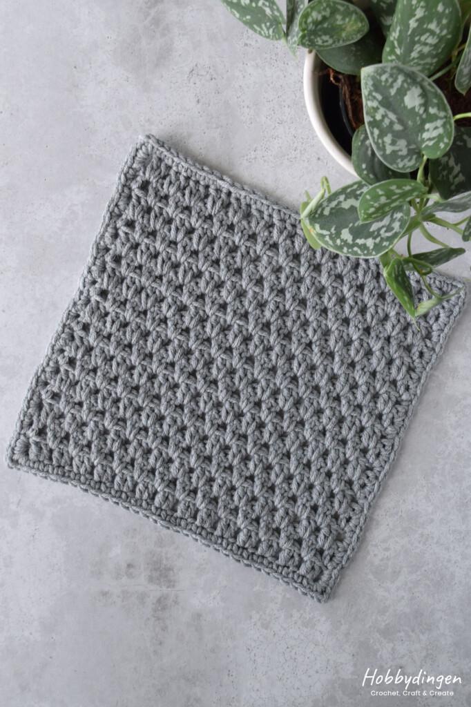 Haakpatroon Juni Vierkant Year of Squares Deken Crochet Along - Hobbydingen.com