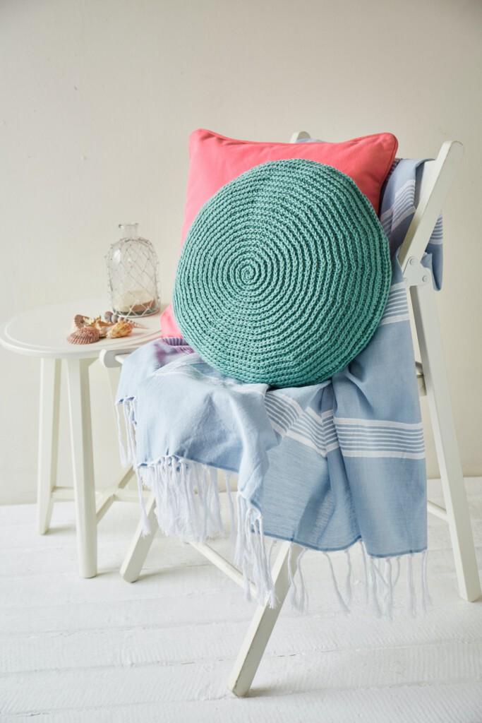 Crochet Pattern Seashell Cushion Crochet Now Magazine Issue 56 - Hobbydingen.com