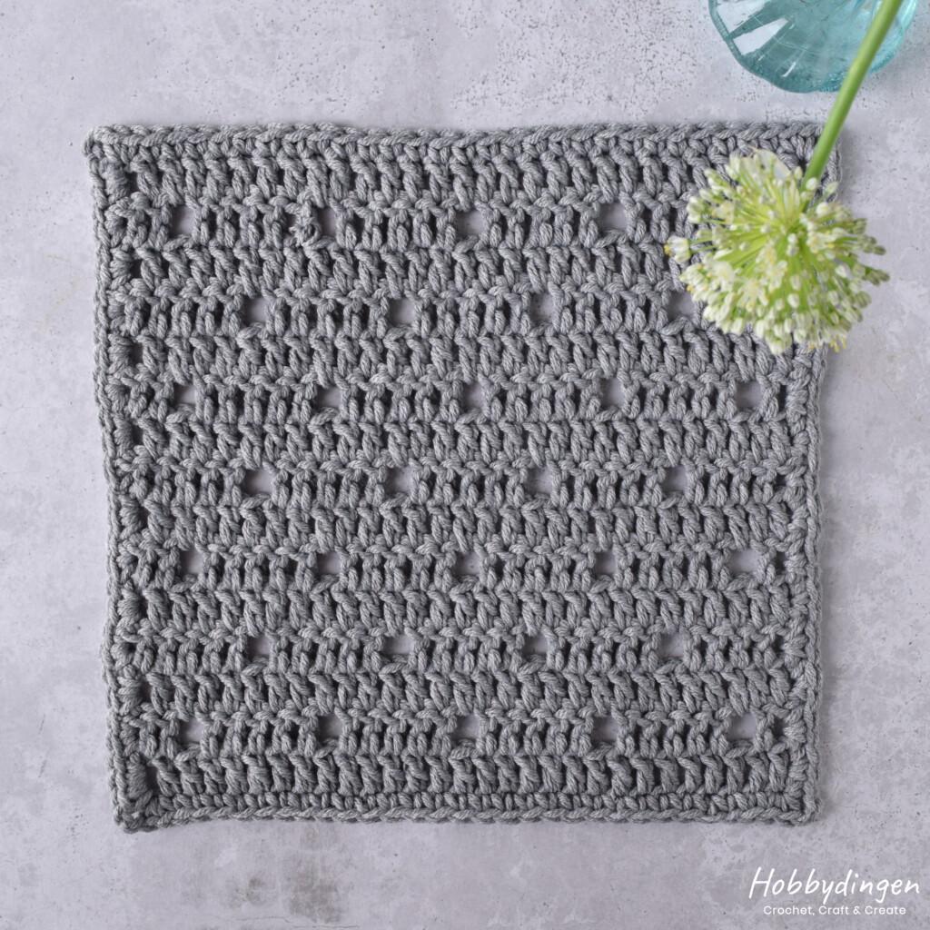 Crochet Pattern August Square - Year of Squares Blanket Crochet Along - Hobbydingen.com
