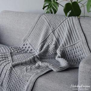 Crochet Pattern Year of Squares Blanket - Hobbydingen.com