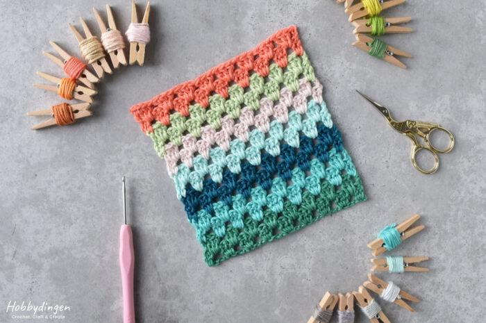 Colors for my crochet temperature blanket 2021 - Hobbydingen.com