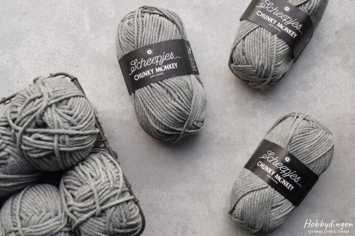 Yarn for the Year of Squares Blanket crochet along - Hobbydingen.com
