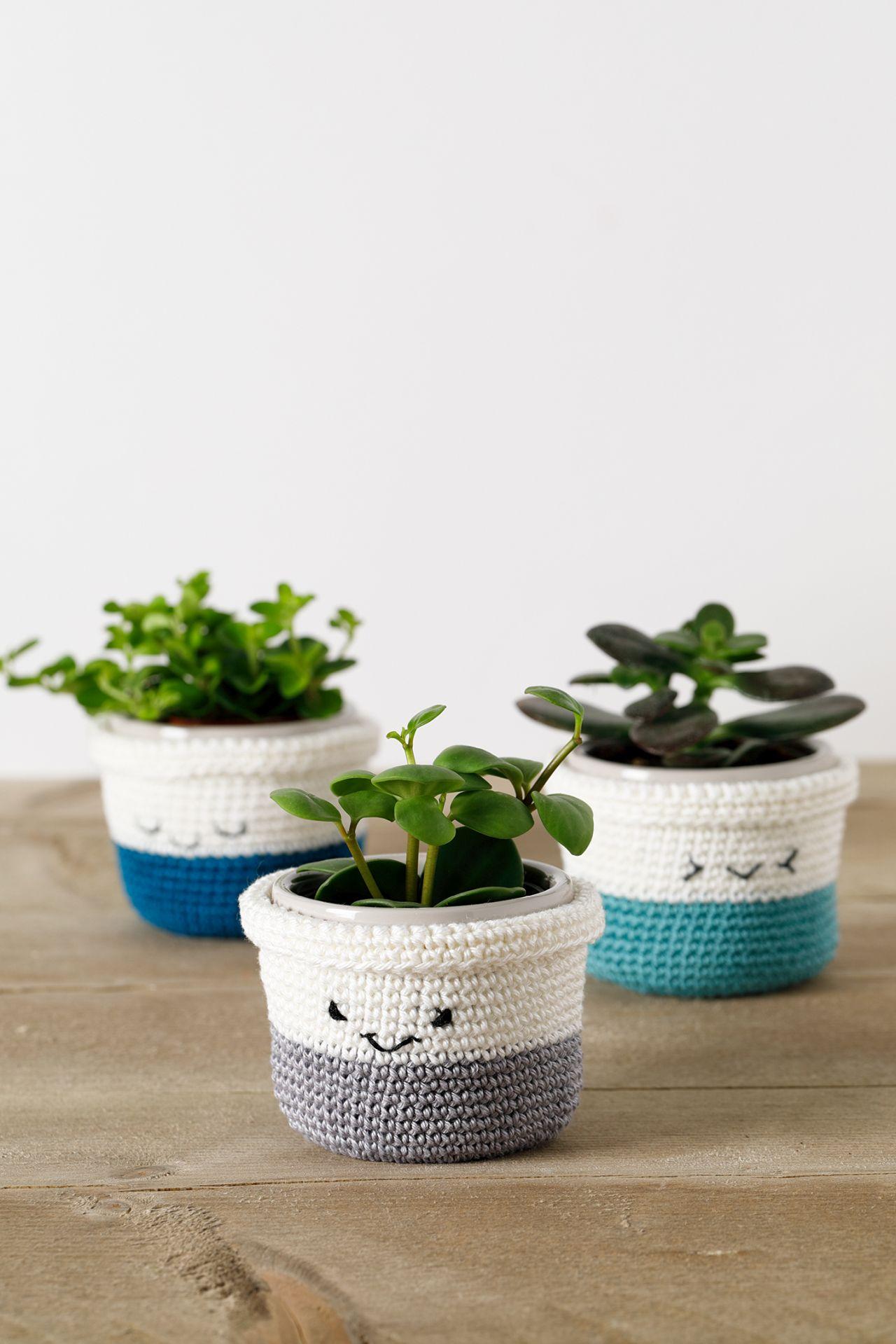 Haakpatroon Vrolijke Plantenpotjes Aan de Haak Amigurumi 4