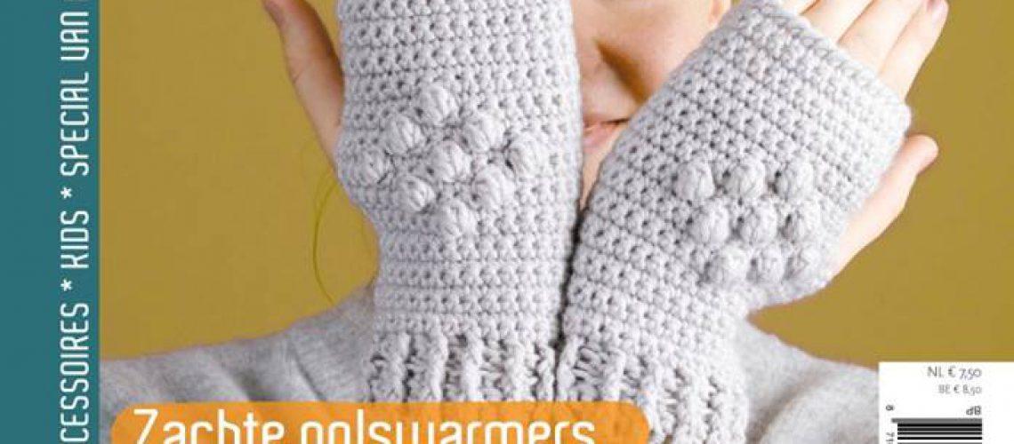 Aandehaak 12: Winterspecial, Polswarmers - Hobbydingen.com